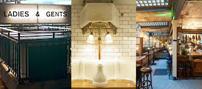 Top 3 converted public toilets in London