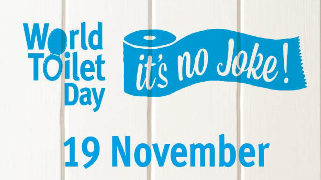 Today is World Toilet Day 2019